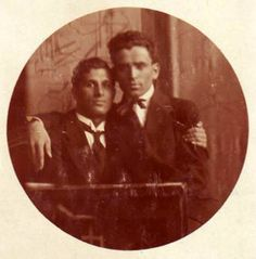 """Much of our photographic history has been purposely destroyed. Since most of the men and women in these photos are unknown, it's pretty much impossible to tell it they were a gay couple or just """"good friends."""" Most photographs of gay couples were eventually destroyed by horrified family members. For every photo that I may have mistakenly identified as gay, thousands more were burned or torn into pieces to keep a family secret and keep us out of sight."""