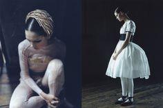 Pure White Mode Style | Photography by Osamu Yokonami