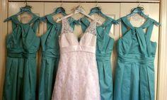 The girl's dresses for the wedding #PreppyPlanner