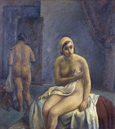 Moro Gino, Modella a riposo (Galleria d'Arte Moderna Ricci Oddi, Piacenza)