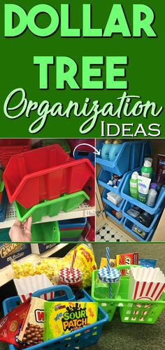 If you're looking to do some Spring cleaning and organizing, check out these awesome Dollar Tree items – for just . Astuces Dollar Store, Dollar Store Hacks, Dollar Stores, Dollar Dollar, Dollar Items, Dollar Tree Organization, Craft Organization, Organizing Ideas, Organizing Solutions