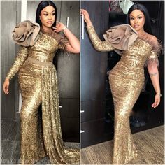 Aso Ebi Styles 2019 Ankara: These elegant and cute 2019 aso ebi Ankara we have carefully selected so as to fill in the void missing about asoebi styles for the Aso Ebi Lace Styles, African Lace Styles, Lace Dress Styles, Ankara Gown Styles, African Style, African Fashion Ankara, Latest African Fashion Dresses, African Print Fashion, Nigerian Fashion