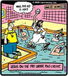 This would make water polo so much easier.