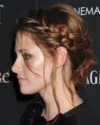 """Résultat de recherche d'images pour """"chignon cheveux courts"""""""
