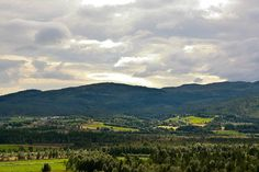 """Namdalseid. Typical landscape. This is what my home """"town"""" lokks like. By estenvik on Flickr."""