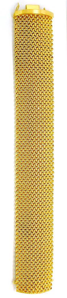 Foto 3, Gelbgold-Armband, Klassisches Topdesign 18K Luxus! Neu!, K2884