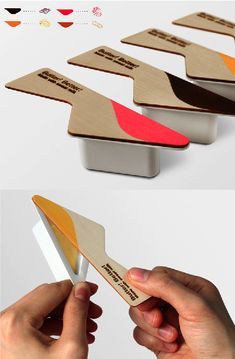 Packaging...cute and clever. Useful, with less waste and use of silverware…