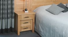Simpsons craft gorgeous bespoke bedroom furniture from their lovingly restored mill in Colne. Bedside Cabinet, Dresser As Nightstand, Bespoke Furniture, Bedroom Furniture, Sleep, Table, Home Decor, Custom Furniture, Homemade Home Decor