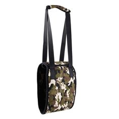 Pet Dog Cat Portable Camouflage Carrier Bag Hand Bag for Injured Pet Dog Lift Support Auxiliary Belt Pet Outdoor Travel Tote Bag