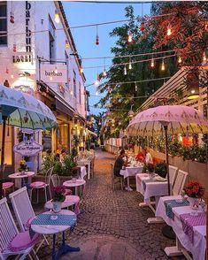 ✤ Alaçati, Turkey Courtesy of Senna Relax ← Tag your best travel photos w. Beautiful Hotels, Beautiful Places, Alacati Turkey, Places Around The World, Around The Worlds, Places To Travel, Places To Go, Turkey Destinations, Turkey Places