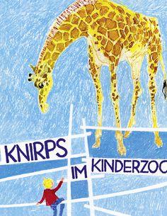 Knirps im Kinderzoo  Das dritte Bilderbuch von Max Bolliger und Klaus Brunner.  ©1967