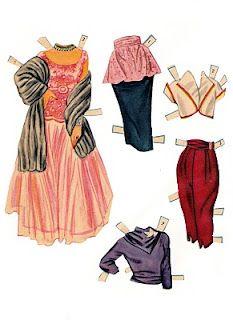 Bonecas de Papel: Elizabeth Taylor Paper Doll