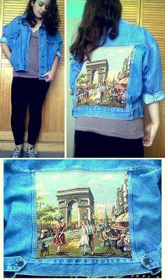► TAPESTRY & PARIS (by Roxy Aedo) http://lookbook.nu/look/4771045-Black-Leggings-Max-Azria-For-Walmart-Neck-Tshirt