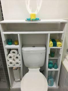 Image result for bathroom shelves from pallets