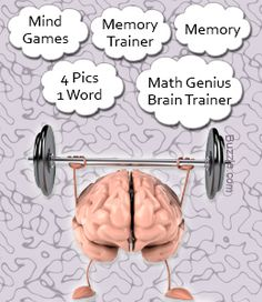 10 Apps That Will Exercise Your Brain – Tracie King 10 Apps That Will Exercise Your Brain Apps for brain exercise Brain Gym, Your Brain, Brain Food, Healthy Brain, Brain Health, Brain Memory, Memory App, Brain Trainer, Math Genius