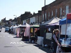 North Cross Road Marker (Saturdays) East Dulwich