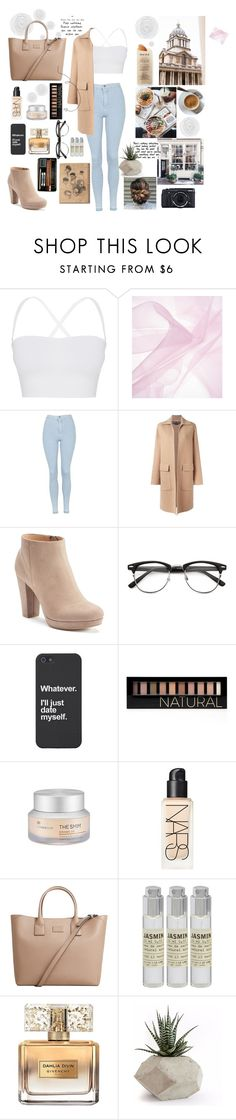 """""""Untitled #12"""" by dark-mark ❤ liked on Polyvore featuring Theory, Topshop, Rochas, LC Lauren Conrad, Forever 21, The Face Shop, Martha Stewart, NARS Cosmetics, MANGO and Le Labo"""