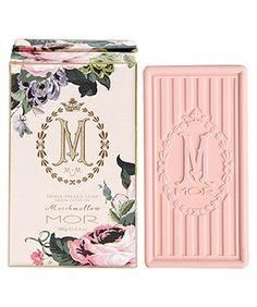 MARSHMALLOW  BOXED MARSHMALLOW TRIPLE MILLED SOAP.  180G / 6.4 OZ