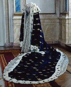 Coronation Dress and Robe of Josephine of Sweden, 1844