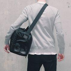 DSPTCH Black Gym Work Bag