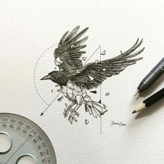 Raven Tattoo (By Kerby Rosanes) - 9GAG