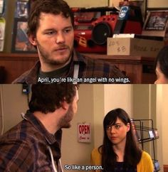 When he acknowledged the unfair beauty standards so often imposed on women. | 23 Times Andy Dwyer Was Secretly A Genius