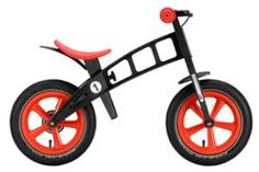 Kids First Bike! Baby Jock Edition by FirstBIKE balance bike. Balance Bike, Kids Bike, Toddler Bike, Drum Brake, Brake System, Bike Seat, Framing Materials, Cool Bikes, Motor Skills