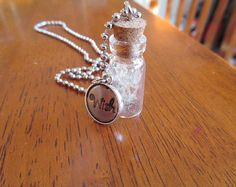 Dandelion Seed 'Wish' Necklace by BoundWithTheWord on Etsy, $15.00