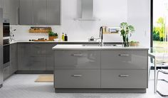 20% Sur Les Cuisines RINGHULT Ikea Ringhult, Grey Kitchens, Cool Kitchens,