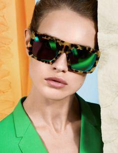 A nova campanha de óculos da grife inglesa Stella McCartney - Verão 2013 #StellaMcCartney #sunglasses #oculos #visionaire