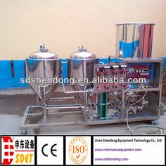 home beer brewing systems,electric brewing system,home small beer brewing system 50L $3000~$5000