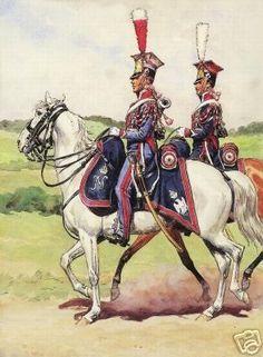 Histoire du 1er Rgt de Chevau-légers Lanciers de la Garde - 1er Empire et Nos Polonais