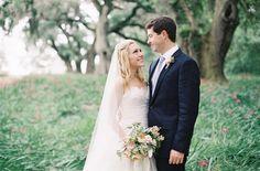 sweet spring couple | Ashley Seawell #wedding