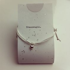 925 Silber ♥ Herz Armband, Trauzeugin. von LaContessaAccessoires auf DaWanda.com