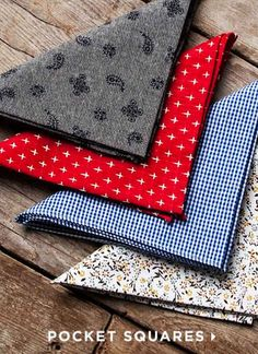The ideal Pocket Square to finish off your look...