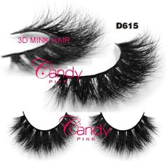 6207dc31ee6 D615 custom package box private logo Free shipping in stock 100% real  handmade siberian mink hair strip lashes 3d mink eyelash