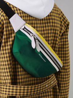 Women's Bags : Picture Description Tri-tone Nylon and Leather Bum Bag by – A streetwear staple revived in block-colour nylon with leather trims. Carry it crossbody, by the strap or around the waist - Source by glamfashionusa Bags street Leather Bum Bags, Leather Crossbody Bag, Streetwear, Womens Fashion Online, Latest Fashion For Women, Mochila Adidas, Waist Purse, Trendy Swimwear, Hip Bag