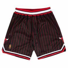 Embroidery Chicago Bulls Basketball Shorts Vintage Retro Mesh Swingman Pants Men