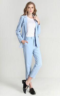 3f922cac89e Pantalon tailleur femme costume femme tailleur veste pantalon femme Ensemble  Veste Pantalon Femme