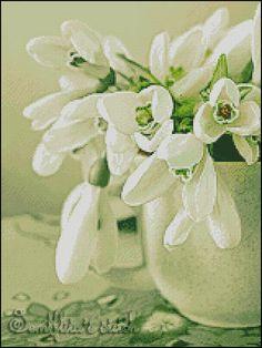 """Querheftungsmusters PDF """"Spring"""""""
