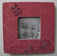 Mod podge picture frames
