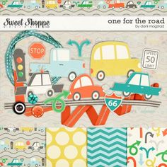 One For the Road mini kit freebie from Dani Mogstad