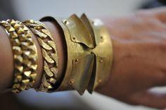 gold artillery