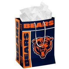 Chicago Bears Official NFL Medium Gift Bag