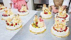 【レコールバンタン】世界にひとつのウエディングケーキ②♪
