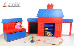 Our 'cottage' themed furniture for a reading corner/bedroom with seat/storage chalkboard & whiteboard School Furniture, Kids Furniture, Bedroom Corner, Seat Storage, Cottage Furniture, Whiteboard, Toy Chest, Chalkboard, Play
