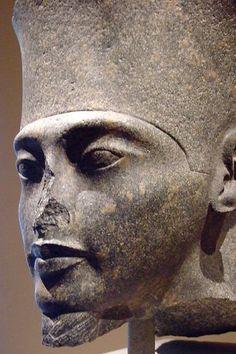 Head of Amun dynasty 18 Reign of Tutankhamun 1336-1327 BCE