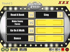 Baby Shower Game - Family Feud - Gender Neutral Unisex Trivia Powerpoint Game - Mac and PC Compatible - Shower Feud - Fun Baby Shower Games Outdoor Games For Kids, Fun Games For Kids, Baby Shower Questions, Icebreakers For Kids, Babyshower Games For Girls, Princess Party Games, Baby Shower Games Coed, Powerpoint Games, Unisex Baby Shower