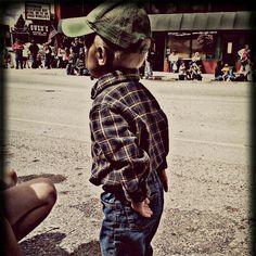 Home town fair. My lil country boy! :) Newport Idaho
