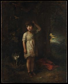 Thomas Gainsborough (English, 1727–1788). A Boy with a Cat—Morning, 1787. The Metropolitan Museum of Art, New York. Marquand Collection, Gift of Henry G. Marquand, 1889 (89.15.8) #cats